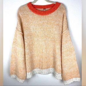 Free People Alpaca Oversized Chunky Knit Sweater S